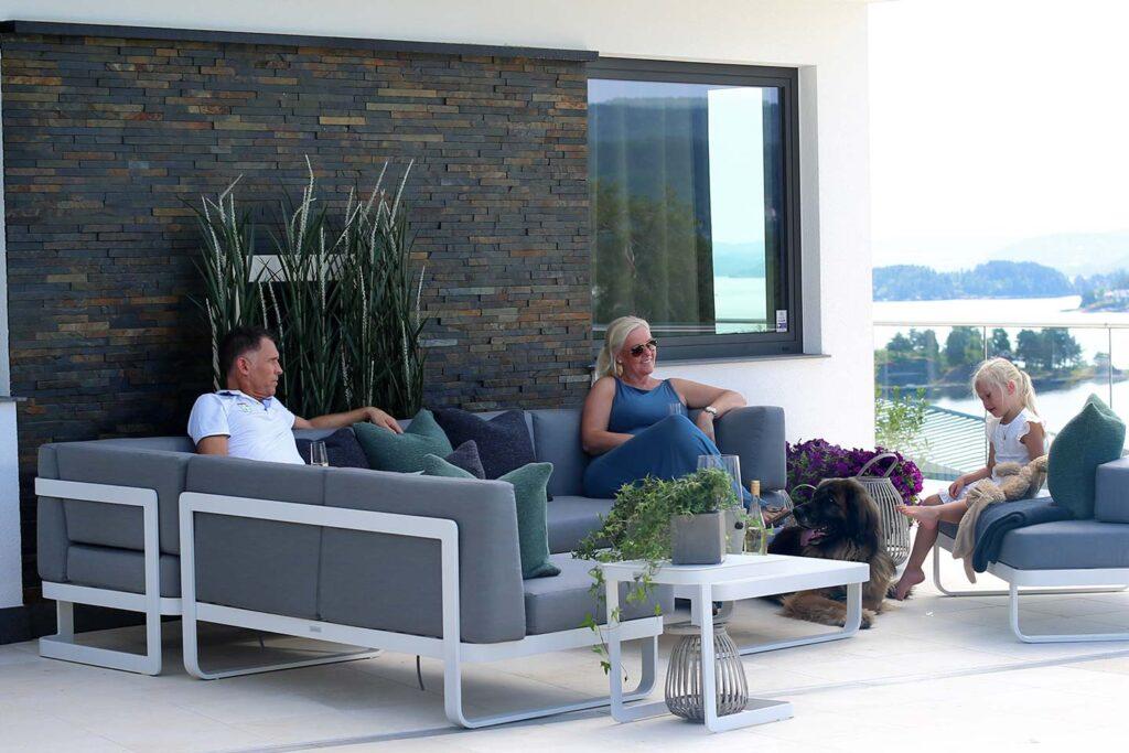 Lounge og modul Fine Design Hagemøbler