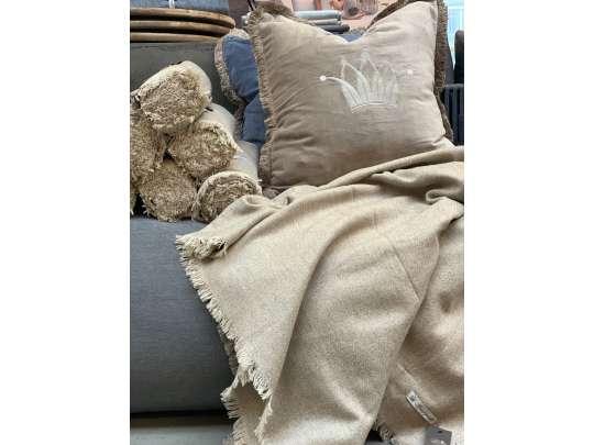 Pledd-beige Hagemøbler og utemøbler - Fine design