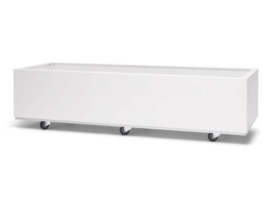 Hvit-120x40 Hagemøbler og utemøbler - Fine design