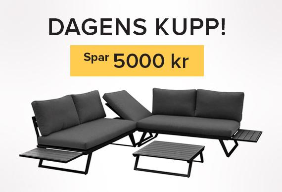 Dagens-kupp- Gardenart sofa med 5000 kr avslag