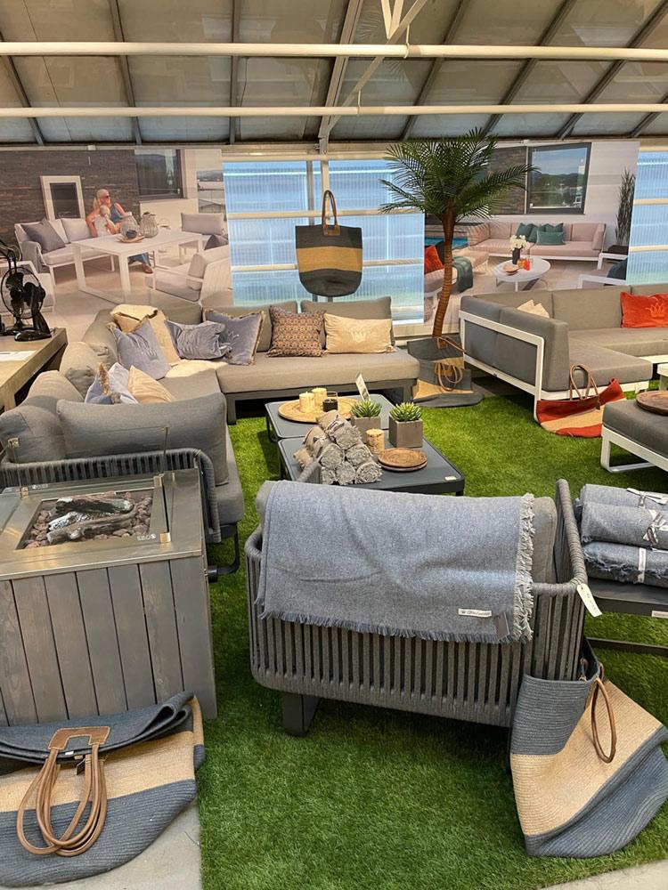 Fine Design hagemøbler høviks utemøbler 2021 6 tilbehør som pledd, puter og tepper