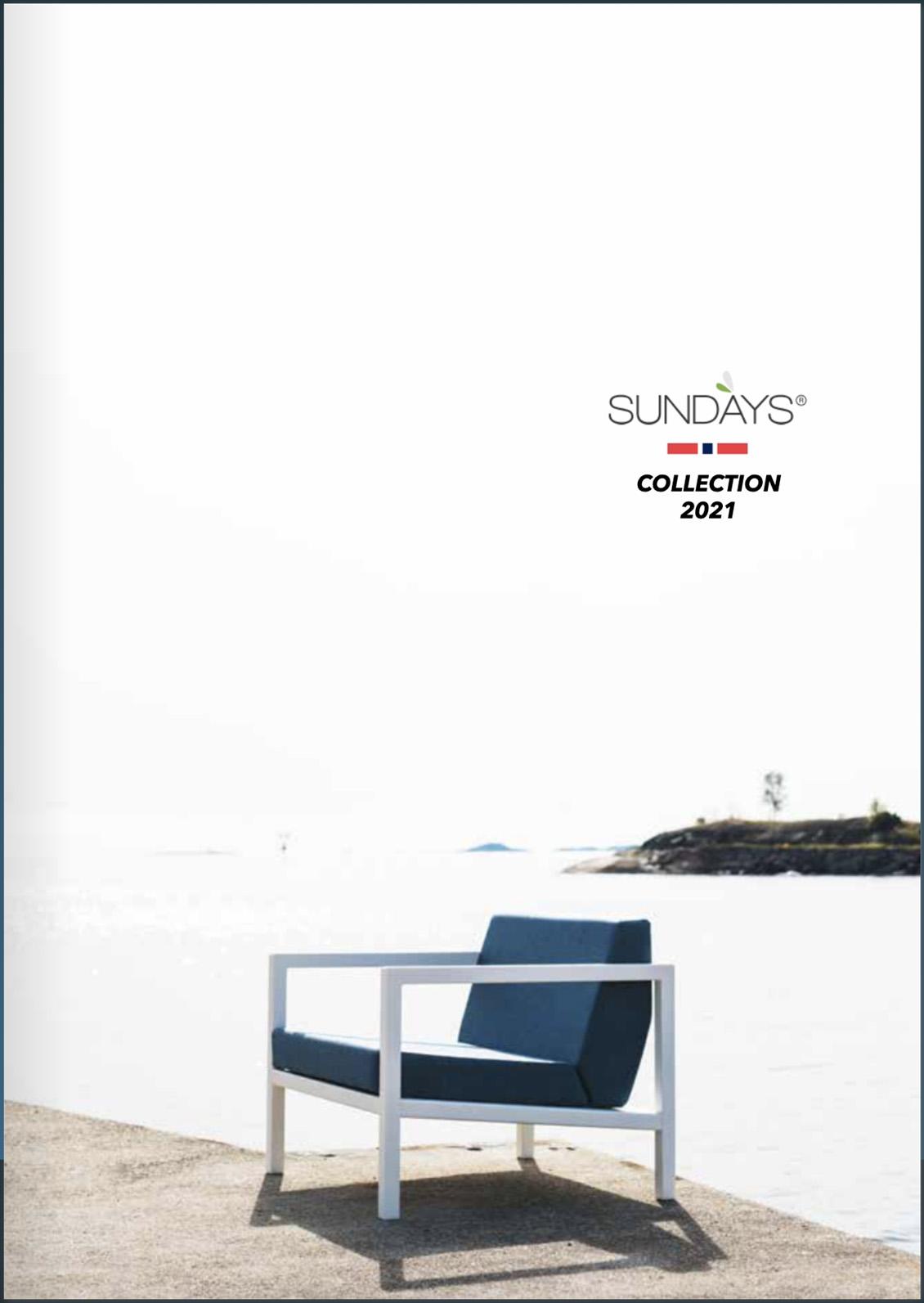 Sundays Design hagemøbler sesongen 2021 i salg hos Fine Design Hagemøbler