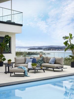 Gardenart Lounge utemøbler hagemøbler Fine Design