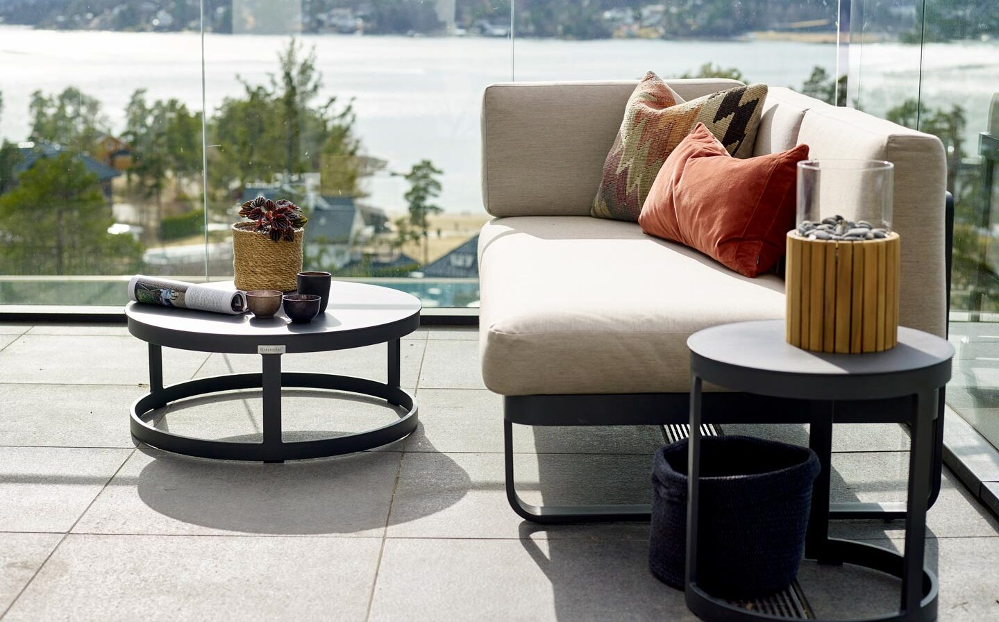 Gardenart sofabord sofa lounge Fine Design