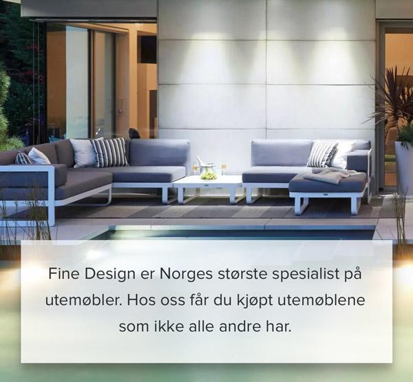 Utemøbler – Fine Design er Norges største spesialist